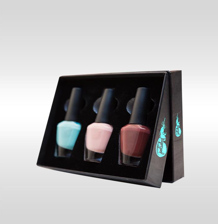 Custom Nail Polish Boxes - Wholesale Nail Polish Packaging CP cosmetic