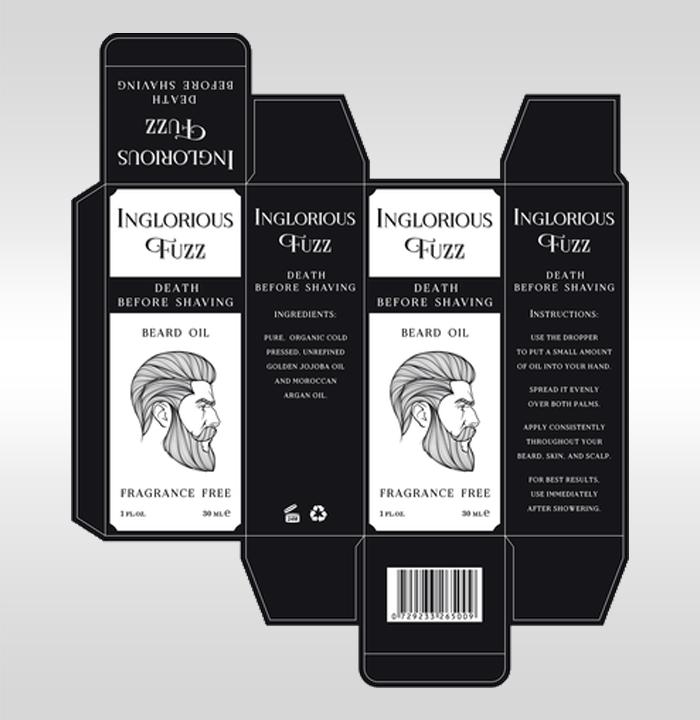 Custom beard oil boxes in 2021