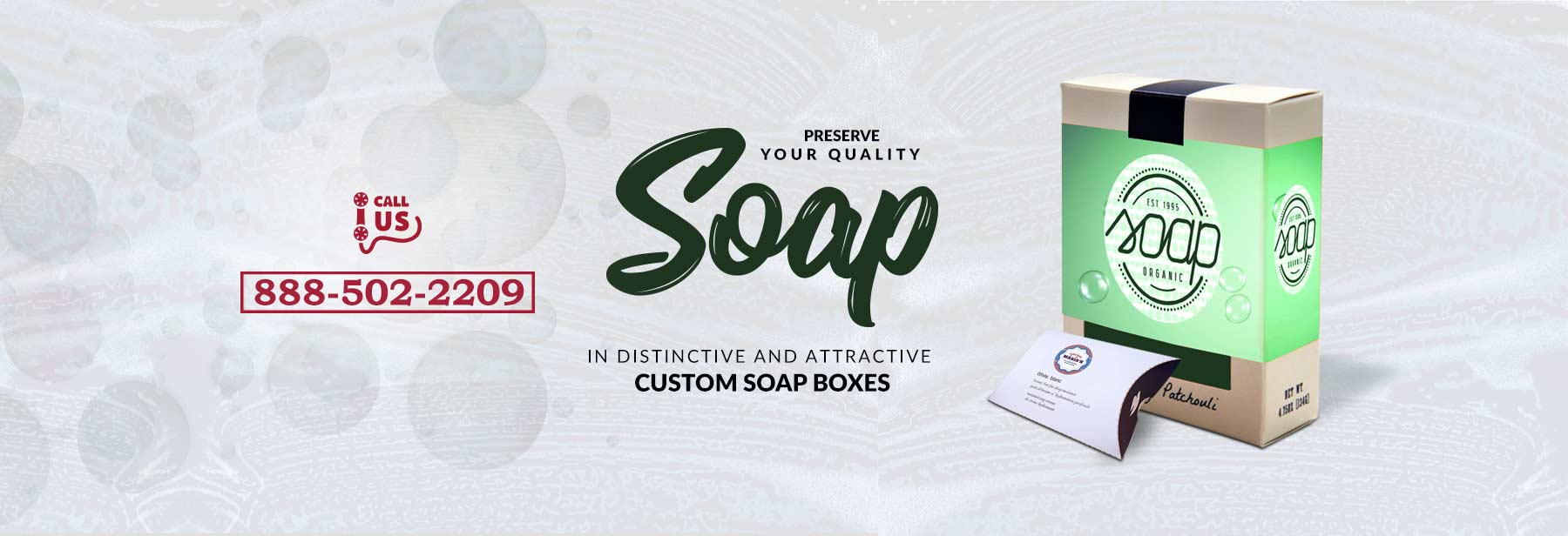 Custom Soap Boxes