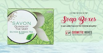 How Window Soap Boxes can add value to your soaps?