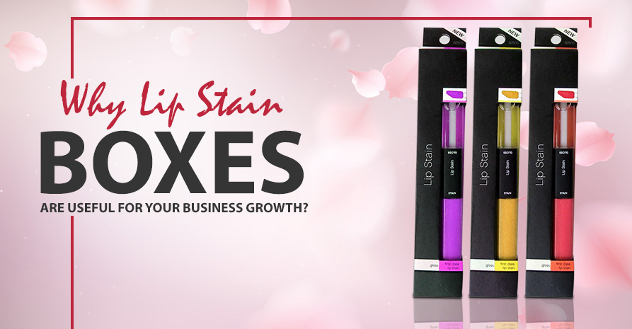 Lip Stain boxes