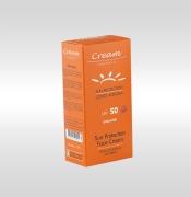 Sun Protection Cream Boxes