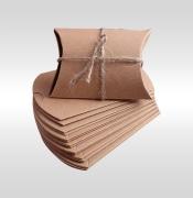 Kraft Pillow Soap Boxes